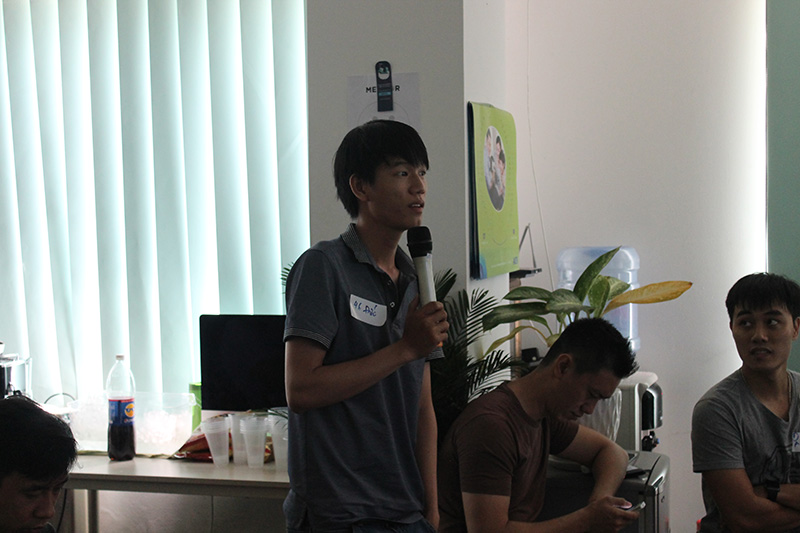 An overall look of the 3rd Meteor Ho Chi Minh Meetup.
