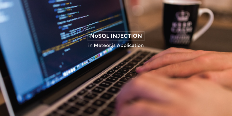 All thing about NoSQL Injection in Meteor Application