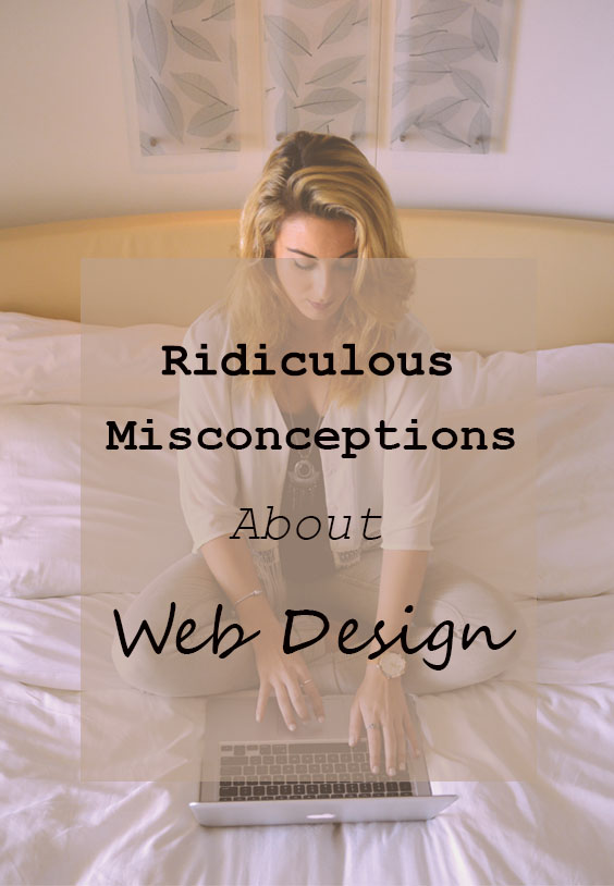 Common web design misconceptions