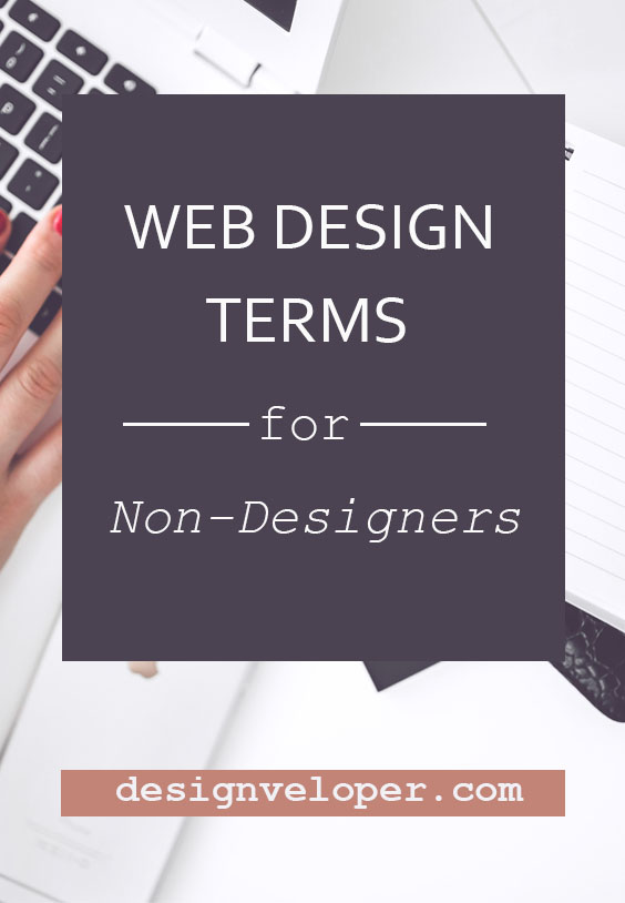 Basic glossary of web design terms for non-designers