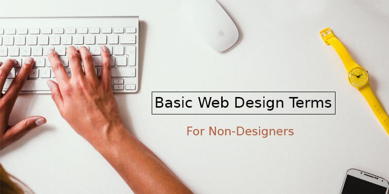 Basic web design terms for non-designers