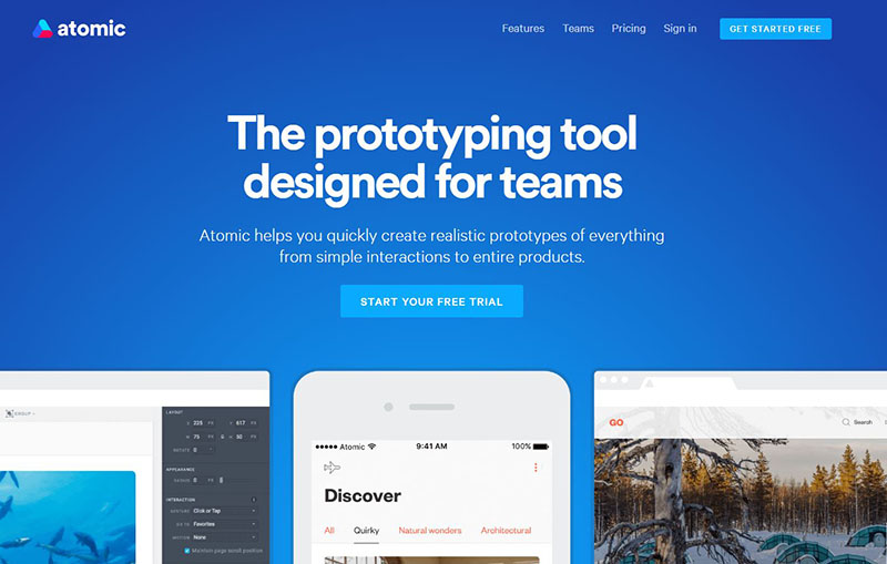 Best web design tools 2016