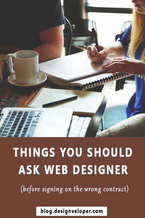 Important things to ask web design agency before signing the
