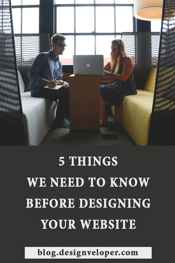Top things we need to know before designing your website