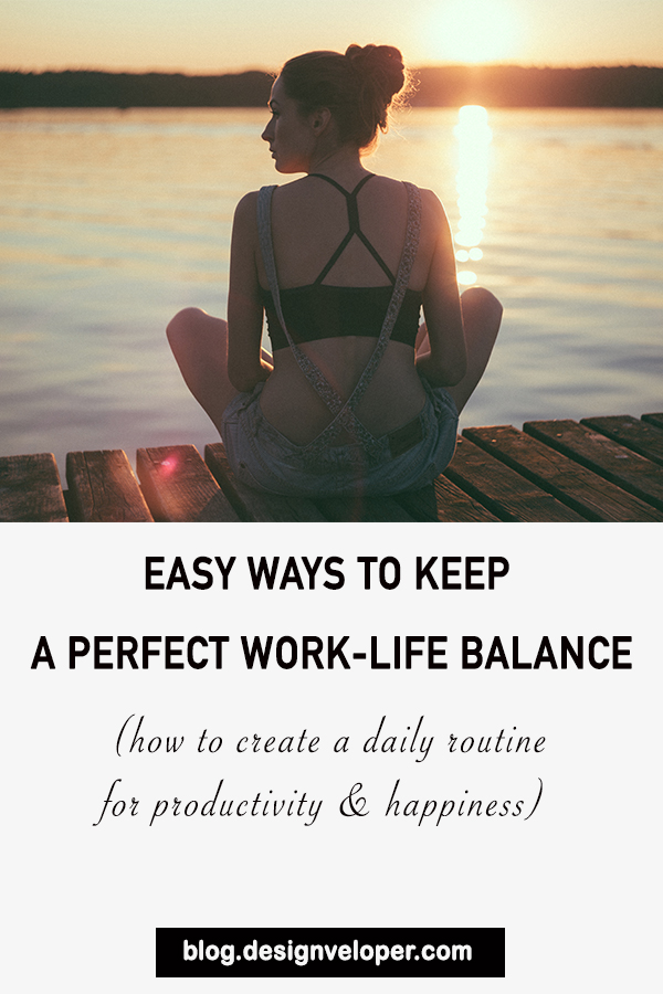 Tips for work-life balance