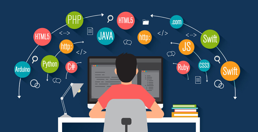 Java, JavaScript, NodeJS, Golang, Python, Swift, C/C++, programming languages