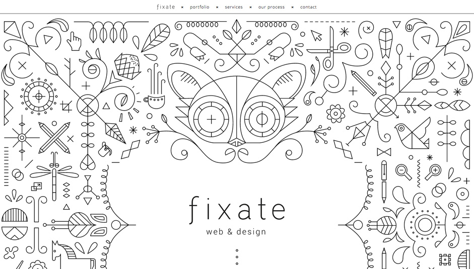 Illustration enhances brand awareness and could be customized and synced easily. Image: Fixate.